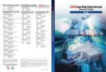 Linear motion rolling guide series general catalog blue