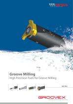 Groove Milling High Precision Tools for Groove Milling