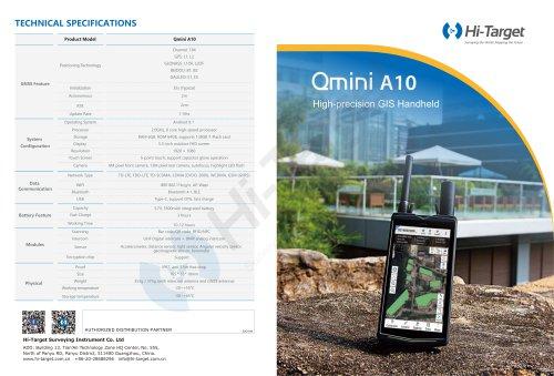 Hi-Target/GIS Handheld/ Qmini A10