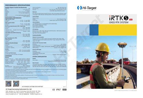Hi-Target/GNSS RTK System/ iRTK5