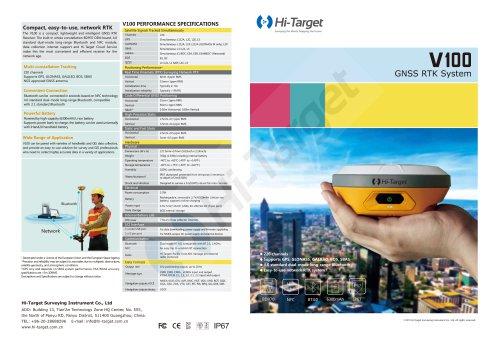 Hi-Target/GNSS RTK System/ V100