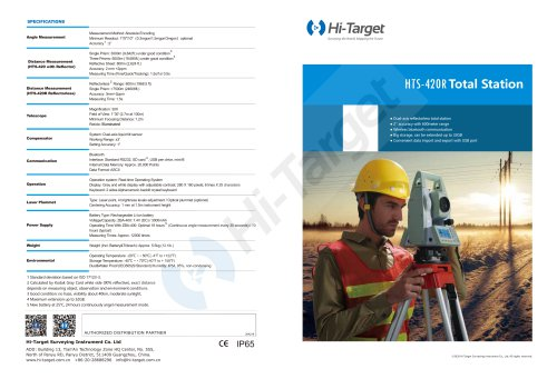 Hi-Target HTS-420R-Brochure-EN-20180605