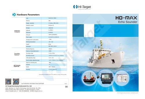 Hi-Target Marine HD-MAX echo sounder
