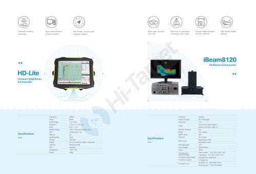 Hi-Target/Single Beam Echo Sounder/ HD-Lite