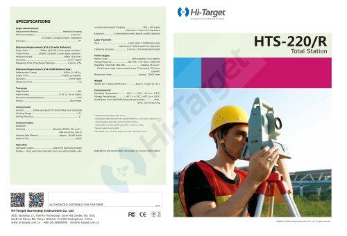 Hi-Target/Total Station/ HTS-220R
