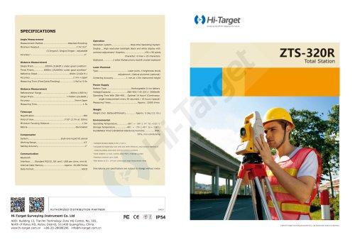 Hi-Target/Total Station/ ZTS-320R