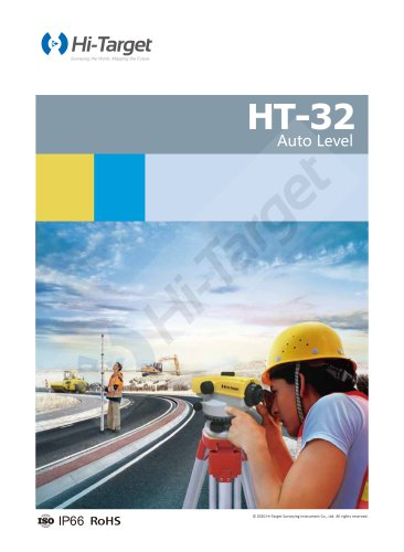 HT-32 Auto Level-Brochure-EN-20180801