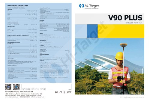 V90 Plus GNSS RTK-Brochure-EN-20190322