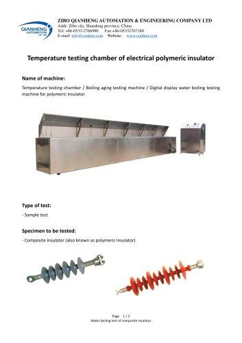 Insulator water diffusion - water boiling testing machine