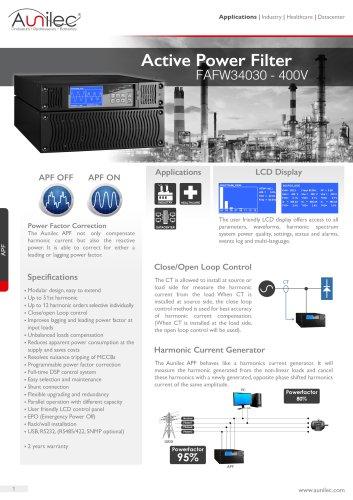 Active power filter 400V