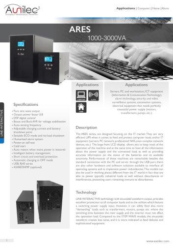 ARES 1000-3000VA