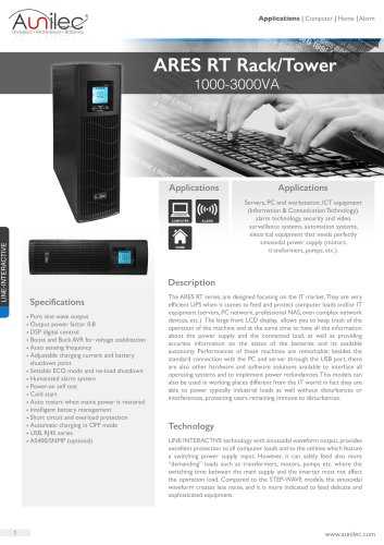 ARES RT 1000-3000VA