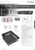 Datasheet MultiNET_ATS 32A/63A/120A