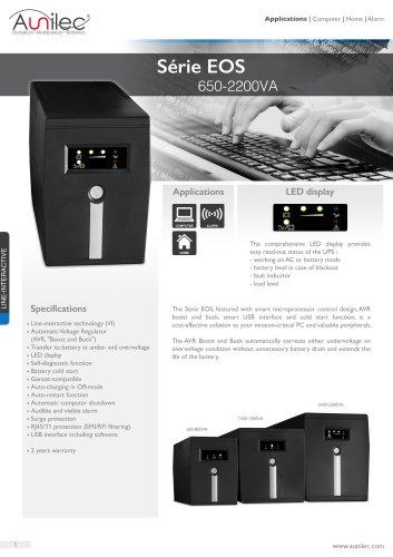Série EOS 650-2200VA