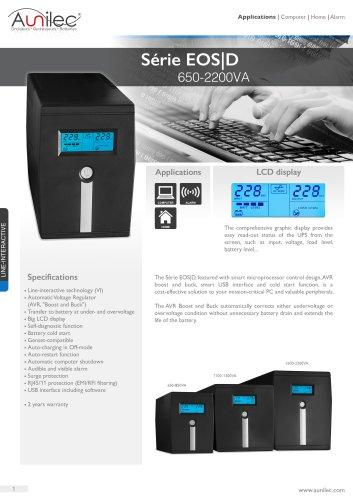 Série EOS|D 650-2200VA