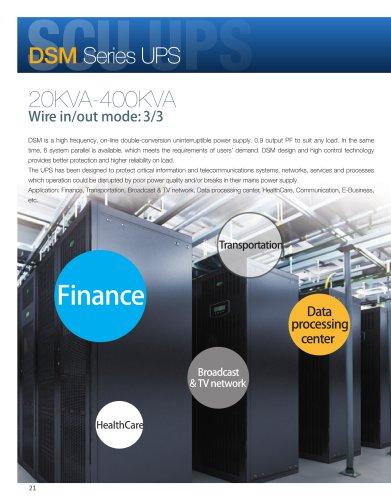 DSM Series UPS