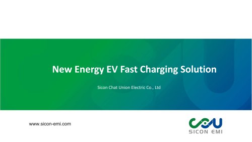 EV Quick Charging Solution/DC Fast Charger Station with CCS and CHAdeMO