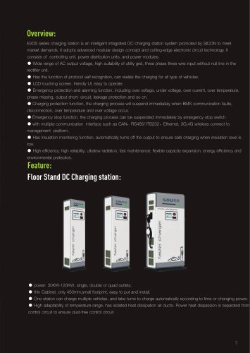 EVDS charging staion Overview