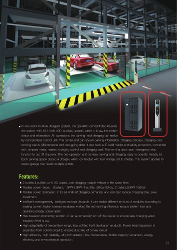 EVTS series split charging system features