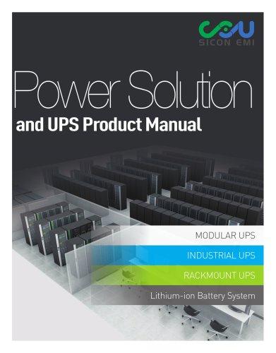 Lithium Modular UPS 30kW-900kW_Sicon