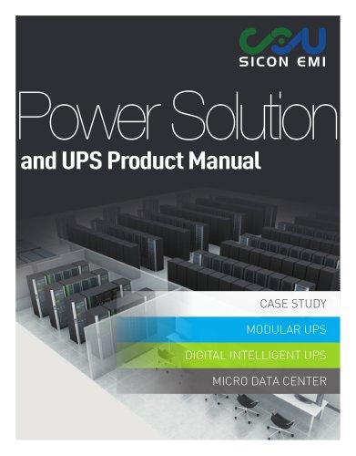 SICON EMI Modular UPS Diagram Introduction