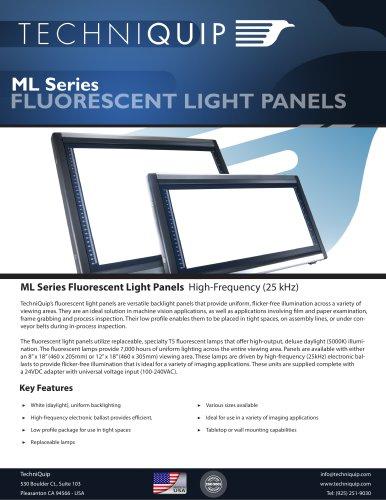 ML Series Fluorescent Light Panels