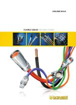Flexible cables for cable chains