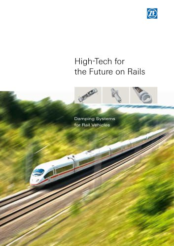 Damping Systems for Rail Vehicles
