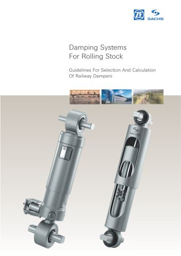 Damping Systems for Rolling Stock