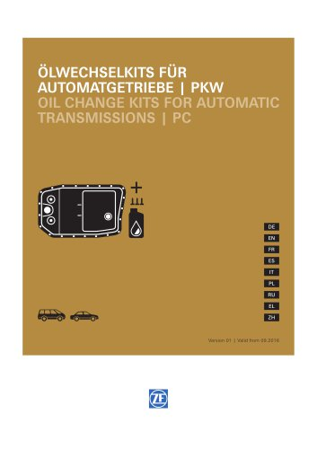 Oil Change Kits for Automatic Transmissions