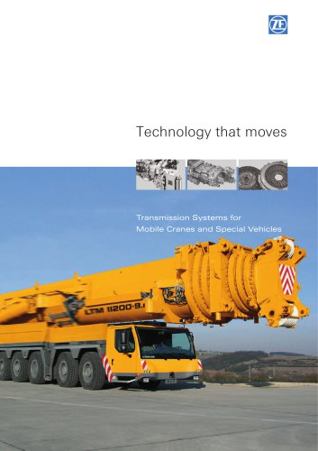 Transmission Systems for  Mobile Cranes and Special Vehicles
