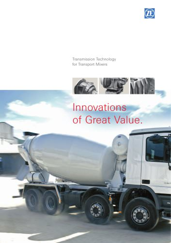 Transmission Technology for Transport Mixers