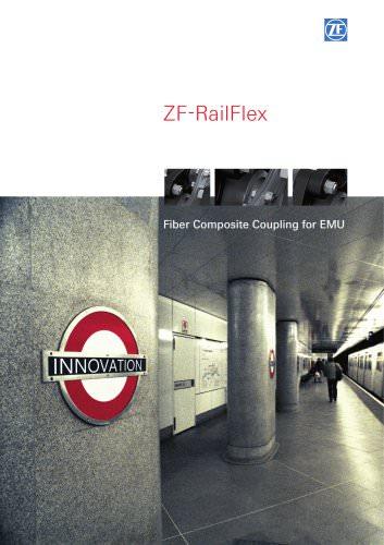ZF-RailFlex - Fiber Composite Coupling for EMU