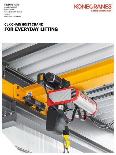 CLX Chain Hoist Crane