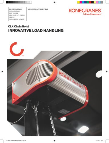 CLX Chain Hoist - Innovative Load Handling