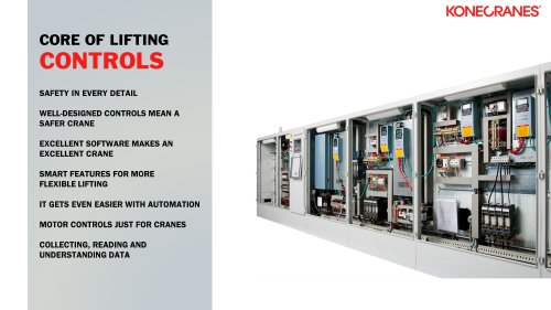 Core of Liftings CONTROLS