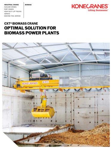 CXT Biomass Crane