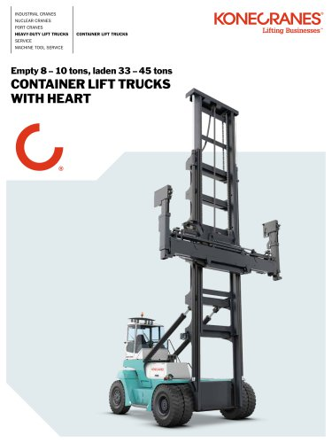 Konecranes Container LIft Trucks