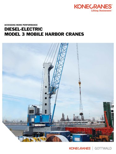 MODEL 3 MOBILE HARBOR CRANES