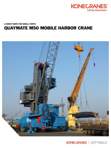 QUAYMATE M50 MOBILE HARBOR CRANE