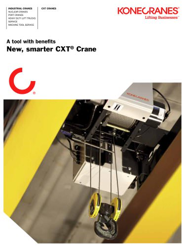 A Tool With Benefits - New, Smarter CXT Crane