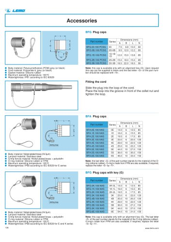 unipole multipole B S K E 00 accessories
