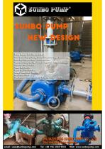 Single Casing ,double stage centrifugal Slurry pump