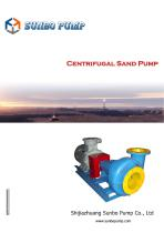 Sunbo Pump Centrifugal Sand Pump Oilwell Drilling - 1