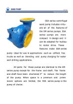 Sunbo Pump Centrifugal Sand Pump Oilwell Drilling - 6