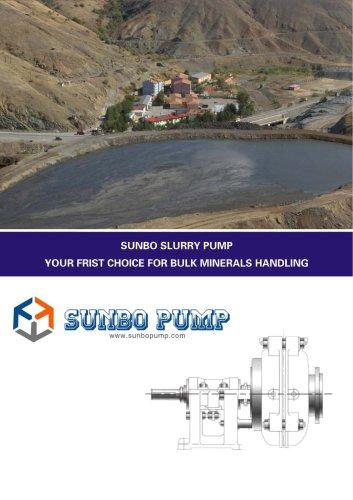 Sunbo Pump-Centrifugal Slurry Pump-Mineral Processing Line
