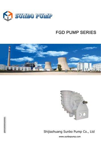 Sunbo Pump FGD Pump Power Plant Application