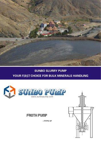 Sunbo Pump Froth Pump Mining Slurry Transport