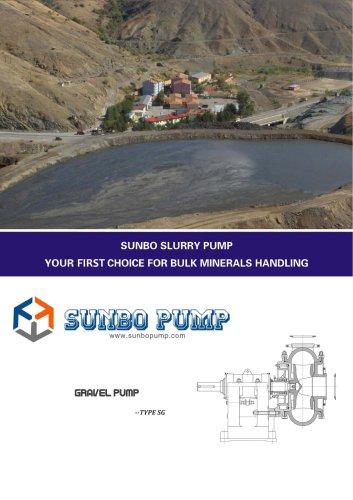 Sunbo Pump Gravel Pump River Dredging Dredger Pump