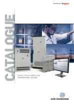 CATALOGUE POWER FACTOR CORRECTION INTERNATIONAL VERSION